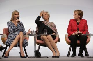 Ivanka Greeted With Boos at Women's Summit