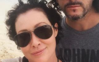 Shannen Doherty Shows Off New Hair After Cancer Remission