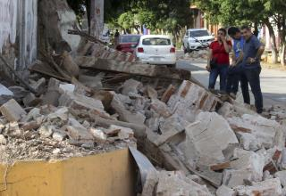 Death Toll Climbs to 35 in Massive Mexico Earthquake