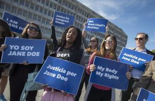 Appeals Court Stops Immigrant Teen From Getting Abortion