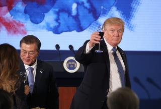 S. Korea: Japan's Gripes Over Trump Dinner 'Inappropriate'