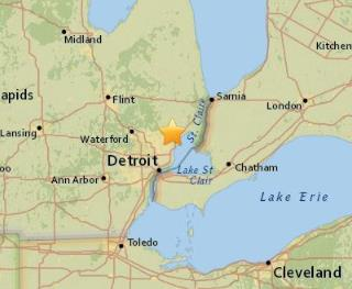 Michigan Meteor Causes Earthquake