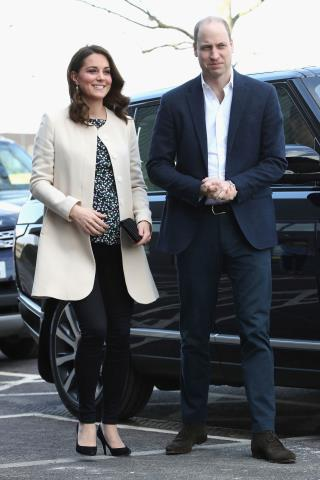 Duchess Kate in Labor