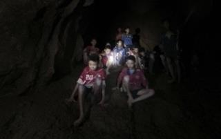 Medics Reach Boys Trapped in Cave