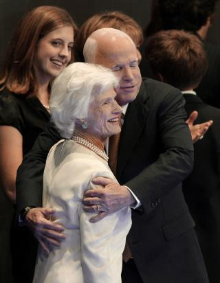 John McCain Is Survived by His Mother