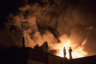 Fire Ravages Brazil Museum in 'Unbearable Catastrophe'