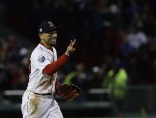 This Is What Mookie Betts Did World Series Game 2 Victory