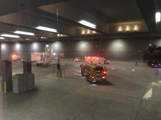 6 Injured in Airport Jet Bridge Collapse