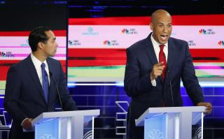 By One Specific Measure, Cory Booker Is No. 1 at Debate