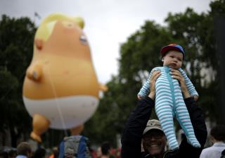 Coming to Trump's 4th of July Party: 'Baby Trump' Balloon