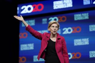 Warren Exceeds Expectations in Quarterly Donations