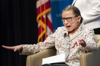 9 Justices Are Enough, Ginsburg Says