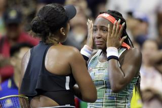 After Gauff's Painful Loss, Osaka Lends Emotional Support