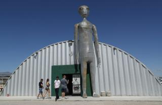 2 Small Towns Brace for Area 51 Rush