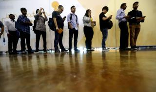 Jobless Rate Hits 5-Decade Milestone