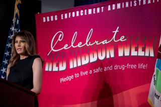 First Lady Speaks Out on E-Cigs