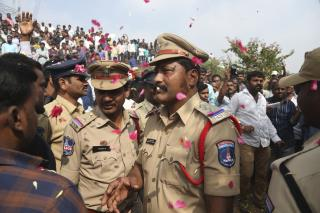 Indian Police Shoot 4 Gang Rape Suspects