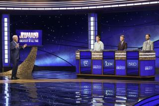Jennings Takes Lead in Jeopardy! Tournament