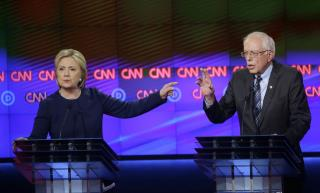 Clinton Walks Back Remarks on Sanders