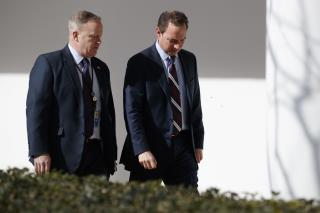 White House Brings Back Spicer and Priebus in Unpaid Posts