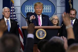 Trump Addresses Nation Over Coronavirus