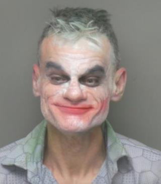 Guy's Joker 'Performance' Ends in Charge of Terrorist Threat