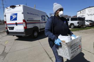 Trouble Looms for USPS Amid Virus Outbreak