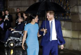 New Digs, New Gig for Harry, Meghan