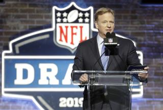 NFL Commish's 'Stage' During 2020 Draft: His Basement