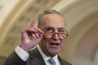 Schumer Takes Dig at Trump With Move on Stimulus Checks