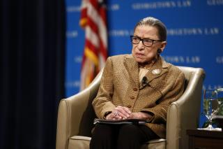 RBG Hospitalized, but Don't Worry