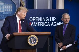 Trump Not Happy With Fauci's Warning to Senators