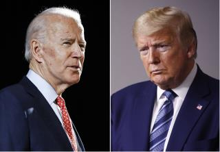 Biden, Trump Go After Each Other