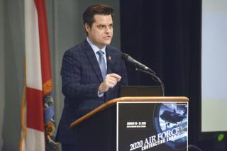 Latest to Get Slapped With Twitter Warning: Matt Gaetz