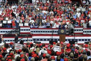 Campaign Says Ticket Demand for Trump Rally Is a Record