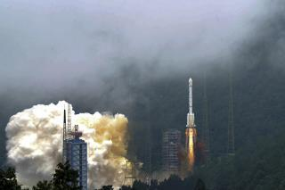China Launches Final Satellite in GPS Rival