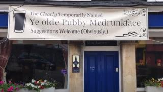 Pub Named After Slave Trader Is Now 'Pubby McDrunkFace'