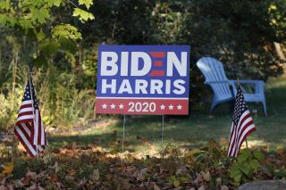 Cops: Man Stole Bulldozer, Tore Down Biden Signs