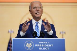 Biden: We Must 'Steel Our Spines' This Holiday