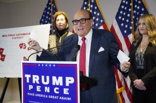 Giuliani Claims 'Big Win for Honest Elections'