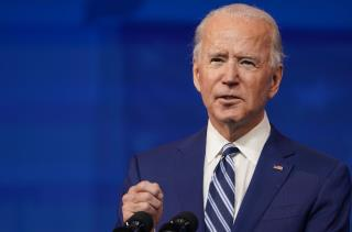 Careful With 'Defund the Police,' Biden Says