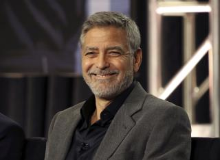 Clooney's Weight Loss for Movie Role Led to Hospital Visit