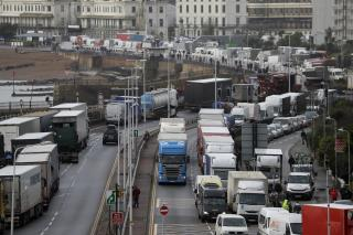 France Relaxes Ban on Trucks From Britain