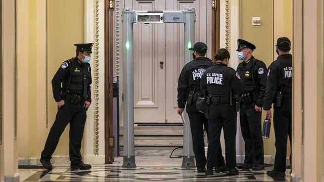Metal Detectors Go Up Outside House Floor, to GOP Outrage