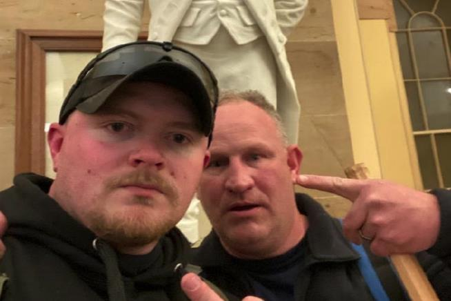 2 Virginia Cops Charged With Breaching Capitol