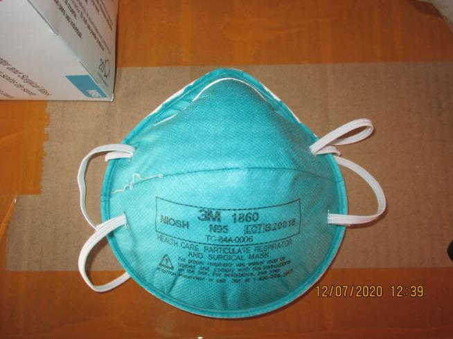 DHS Seizes 11 Million Counterfeit N95 Masks