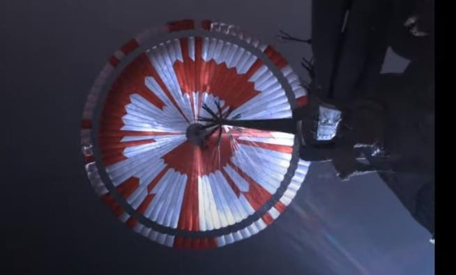 NASA Hid a Message in Its Mars Parachute