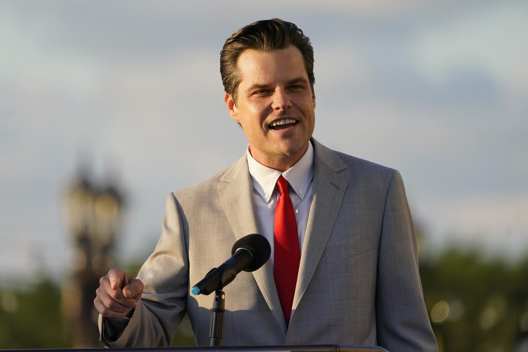 Matt Gaetz Tells Trump Backers He Won't Retreat