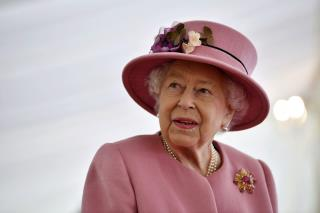 As Philip's Funeral Looms, Queen Gets Back to Work