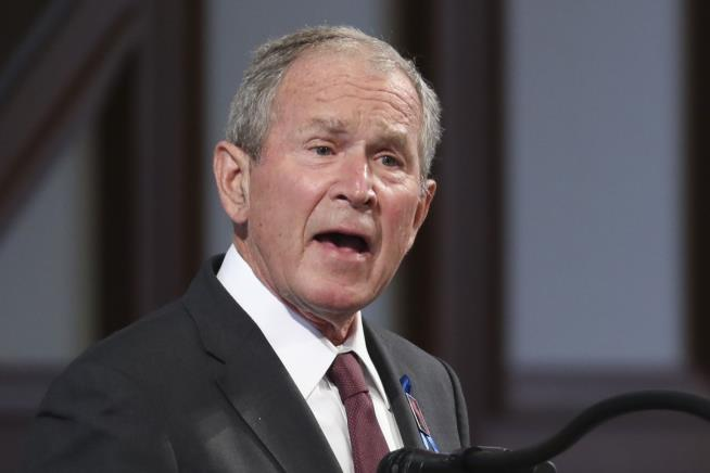 George W. Bush Wrote In His 2020 Alternative to Trump